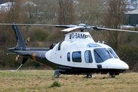 G-SAMP @ EGBC - Agusta A.109E Power [11673] Cheltenham~G 12/03/2009