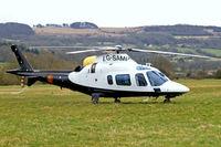 G-SAMP @ EGBC - Agusta A.109E Power [11673] Cheltenham~G 13/03/2009