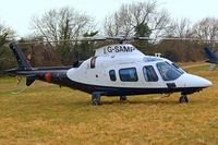 G-SAMP @ EGBC - Agusta A.109E Power [11673] Cheltenham~G 17/03/2010