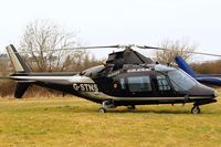 G-STNS @ EGBC - Agusta A-109A-II [7324] Cheltenham~G 18/03/2010