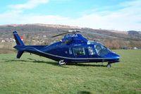 G-TGRA @ EGBC - Agusta A.109A [7201] Cheltenham~G 16/03/2004
