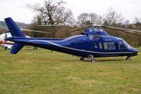 G-TGRA @ EGBC - Agusta A.109A [7201] Cheltenham~G 13/03/2008