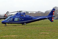 G-TGRA @ EGBC - Agusta A.109A [7201] Cheltenham~G 14/03/2008