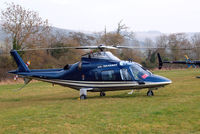 G-VIRU @ EGBC - Agusta A.109E Power [11208] Cheltenham~G 15/03/2011