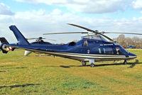 G-VIRU @ EGBC - Agusta A.109E Power [11208] Cheltenham~G 18/03/2011