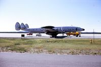 52-3414 @ CYYR - At Canadian Force Station, Goose Bay, Labrador in 1974. This aircraft was later converted to EC-121T. - by Alf Adams
