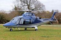 G-WOFM @ EGBC - Agusta A.109E Power [11678] Cheltenham~G 16/03/2012