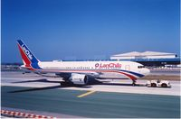 UNKNOWN @ LAX - LAN Chile B767-200 at LAX,Jul.1990 - by metricbolt