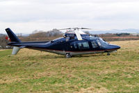 G-ZIZZ @ EGBC - Agusta A.109A-2 [7390] Cheltenham~G 13/03/2009