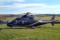 N109TF @ EGBC - Agusta A.109A-2 [7328] Cheltenham Racecourse~G 16/03/2004