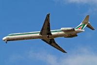 I-DACS @ EGLL - McDonnell-Douglas DC-9-82 [53053] (Alitalia) Home~G 28/03/2010. On approach 27R.