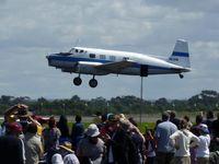 VH-ADN @ YMAV - De Havilland Drover VH-ADN taking off for flying demonstration at Avalon 2015 - by red750