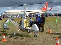 VH-XRN @ YMAV - Co-axial Rotor XRON Gyro VH-XRN at Avalon 2015