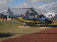VH-RUA @ YMAV - Agusta A109E VH-RUA at Avalon 2015