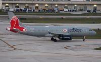 N605JB @ FLL - Boston Redsox