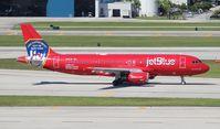 N615JB @ FLL - Jet Blue A320 NYFD