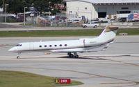 N625TF @ FLL - Gulfstream V