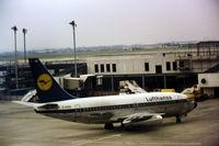 D-ABBE @ EGLL - D-ABBE 737-230C 20253 LUFTHANSA LHR 9-6-77 - by C NEWSOME