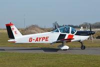 G-AYPE @ EGSV - Just landed at Old Buckenham. - by Graham Reeve