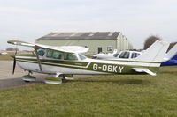 G-OSKY @ EGSV - Parked at Old Buckenham. - by Graham Reeve