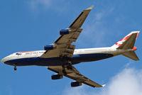 G-BNLN @ EGLL - G-BNLN   Boeing 747-436 [24056] (British Airways) Home~G 12/05/2013. On approach 27R.