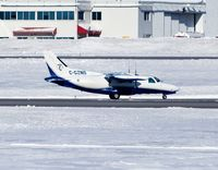 C-GZNS @ CYOW - Just arriving for a quick stopover. - by Dirk Fierens