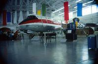 CF-THS @ CYWG - At the Western Canada Aviation Museum in 1985. - by Alf Adams