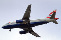 G-EUPR @ EGLL - Airbus A319-131 [1329] (British Airways) Home~G 12/05/2013. On approach 27R. - by Ray Barber