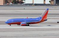 N757LV @ KLAS - Boeing 737-700 - by Mark Pasqualino