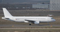 EC-IEI @ LEMD - Taxying at Madrid; in an all-white scheme without titles - by alanh