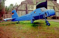 D-ESQT @ EDAV - Finow Air Museum 12.5.04 - by leo larsen