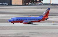 N201LV @ KLAS - Boeing 737-700 - by Mark Pasqualino