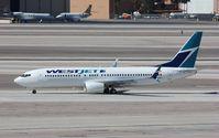 C-FWJS @ KLAS - Boeing 737-800 - by Mark Pasqualino
