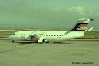 ZK-NZL @ NZAA - Bilmans Management Ltd., Christchurch (t/a Ansett New Zealand).  1993 - by Peter Lewis