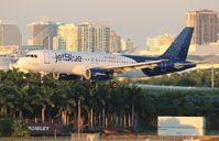 N709JB @ FLL - Jet Blue binary plane