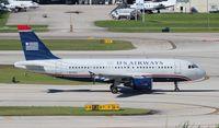 N712US @ FLL - USAirways A319