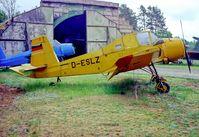 D-ESLZ @ EDAV - Finow Air Museum Germany 12.5.04 - by leo larsen
