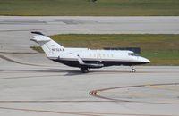 N732AA @ FLL - Hawker 800A