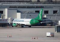 N745VA @ MIA - People Express 737-400 at MIA, company had already folded (again)