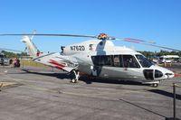 N762D @ SUA - Sikorsky S-76D