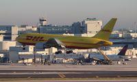 N785AX @ MIA - DHL 767-200 - by Florida Metal