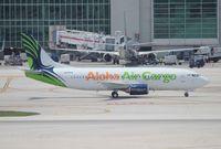 N905AU @ MIA - Aloha Cargo 737-300F