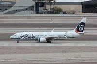 N558AS @ KLAS - Boeing 737-800