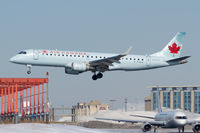 C-FHKA @ CYYZ - Moments from touchdown on 24R at Toronto Pearson while a Fly Jamaica 757 looks on - by BlindedByTheFlash