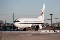 N129AC @ CYYZ - The Phoenix (Arizona) Coyotes team plane parked at Toronto Pearson - by BlindedByTheFlash