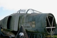 64-0922 - McDonnell F-4C Phantom II neglected on microlight base (LF2923), near Plobannalec (Finistère, Brittany) - by Yves-Q