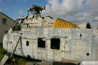 640 - Sikorsky HSS-1 Seabat, neglected on a microlight base (LF2923), near Plobannalec (Finistère, Brittany) - by Yves-Q