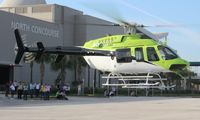 N911FS - Bell 407 at Heliexpo Orlando