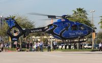 N911HR - EC135 at Heliexpo Orlando - by Florida Metal