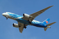 B-2726 @ EGLL - Boeing 787-8 Dreamliner [34924] (China Southern Airlines) Home~G 09/09/2014. On approach 27R. - by Ray Barber